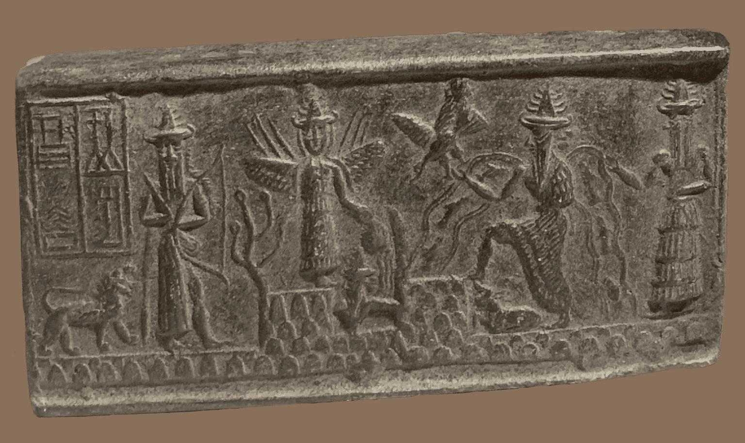 akkadische zegel